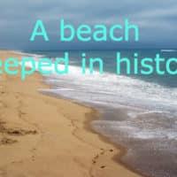 Photo of a deserted Cape Cod beach